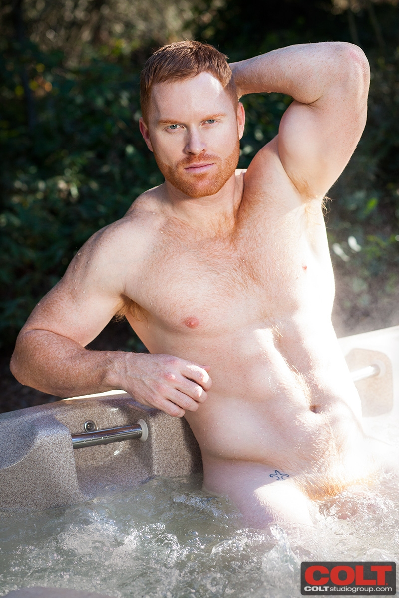 Naked redhead boy erections