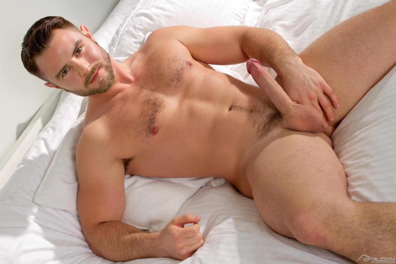 Nick Sterling bottoms for Bobby Clark in the gay porn film Best Buddies by Falcon Studios.