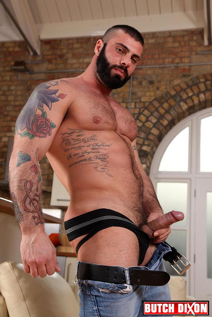 Alex Marte bottoms for Antonio Garcia on gay porn site Butch Dixon.