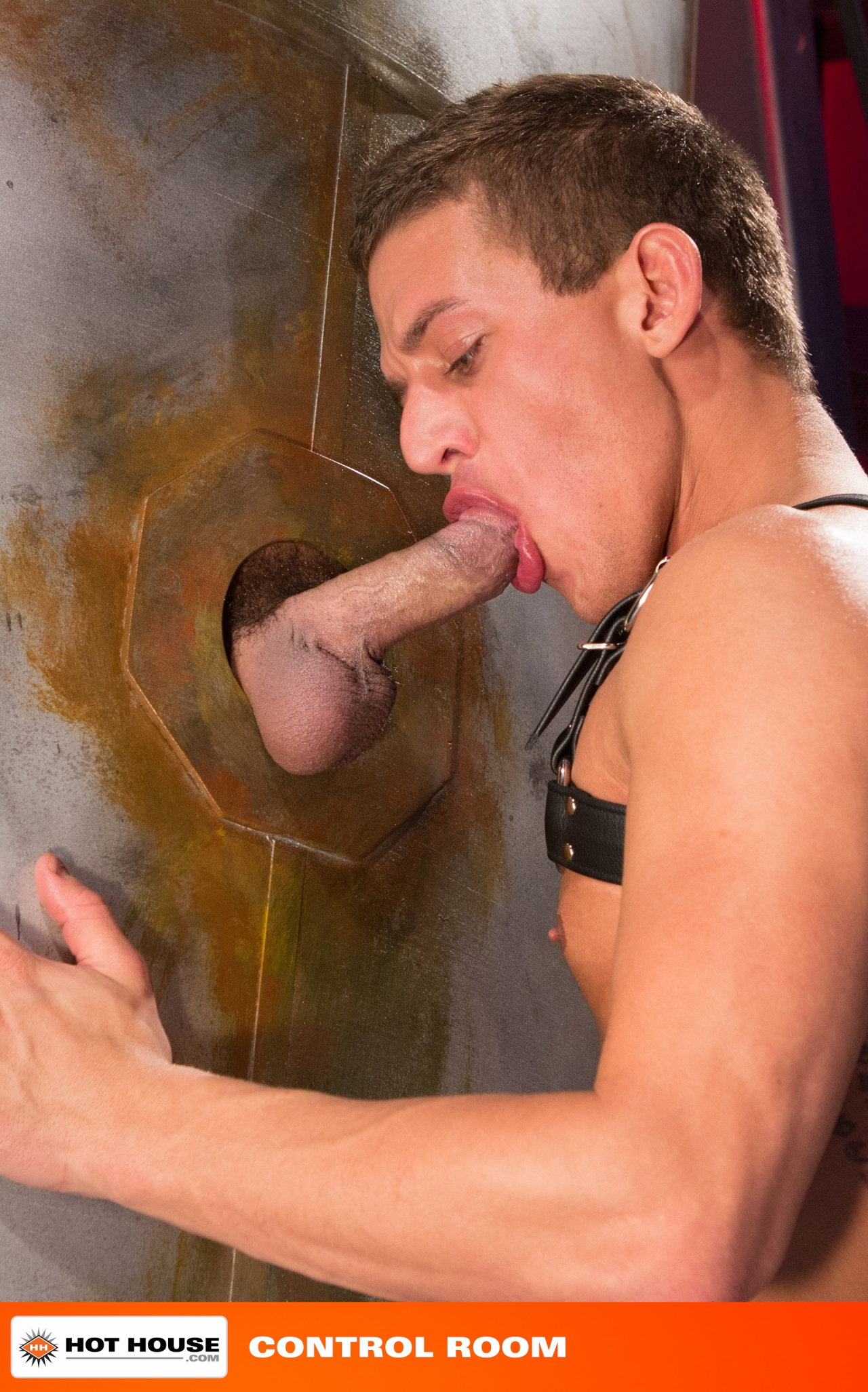 Gay male gloryhole service