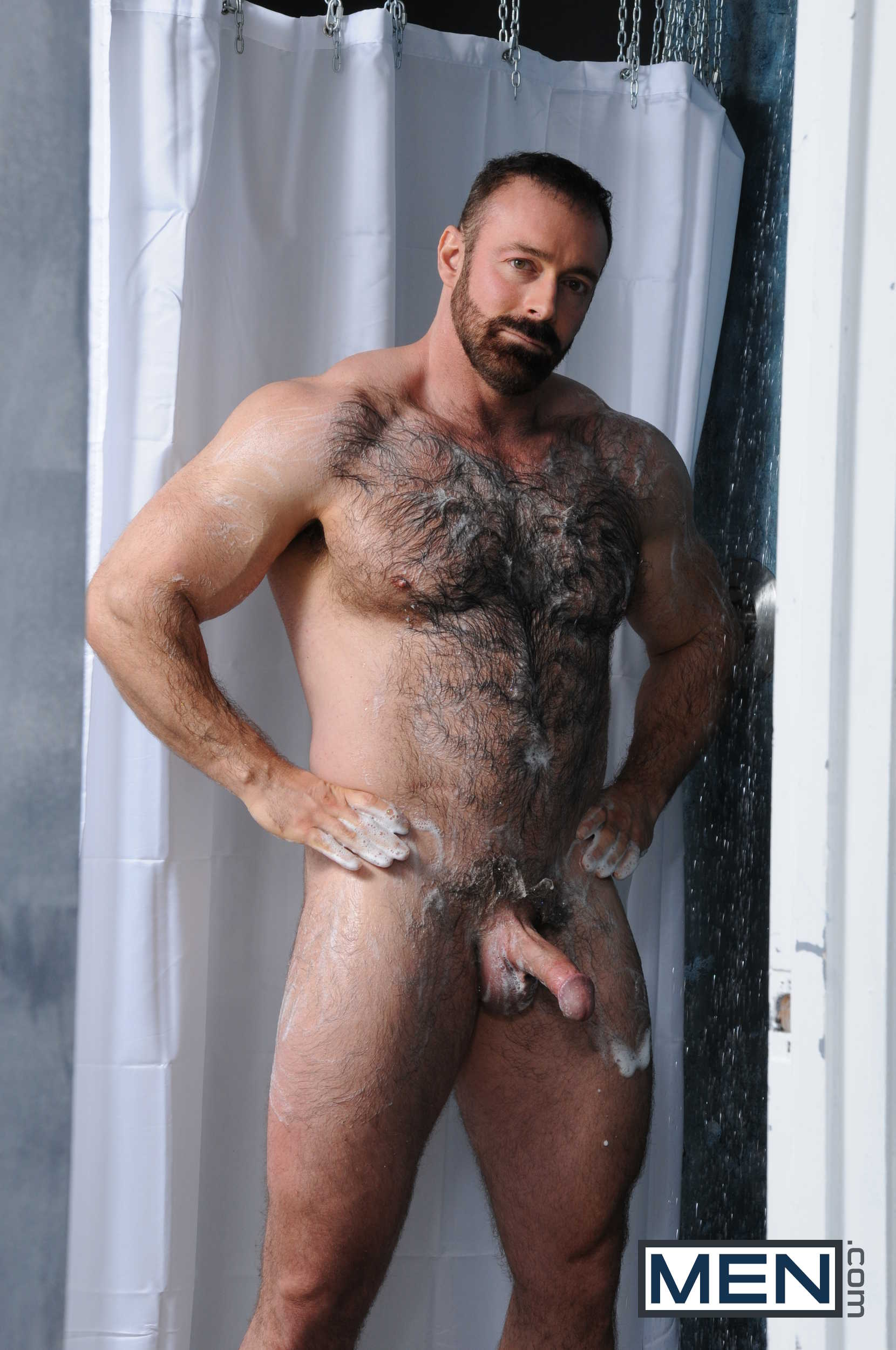Fantastic, love Hairy men in the shower video
