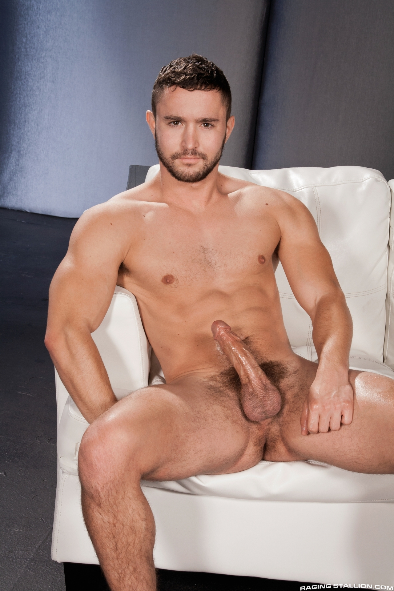 Gay porn newcomer conner bradley takes on 5