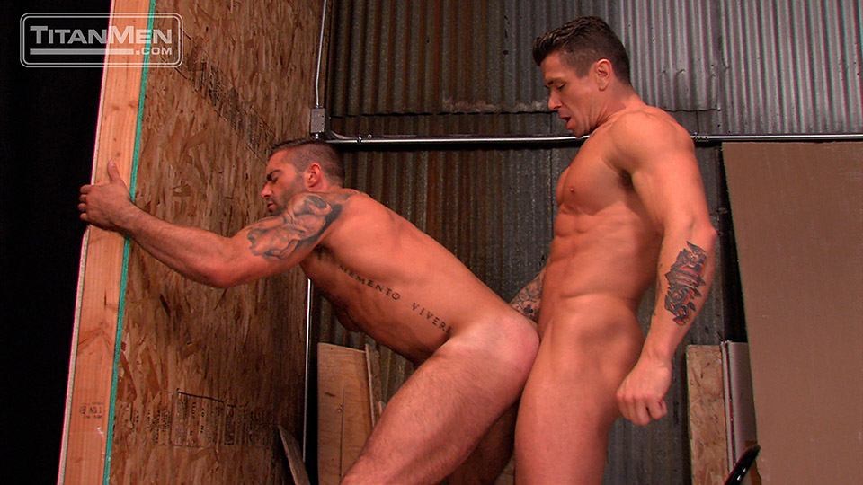 recently two hunks play a game of penile tonsil hockey looking for something