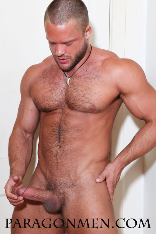 bombshell. Hello there pornstar stud using his muscle to jerk off have good