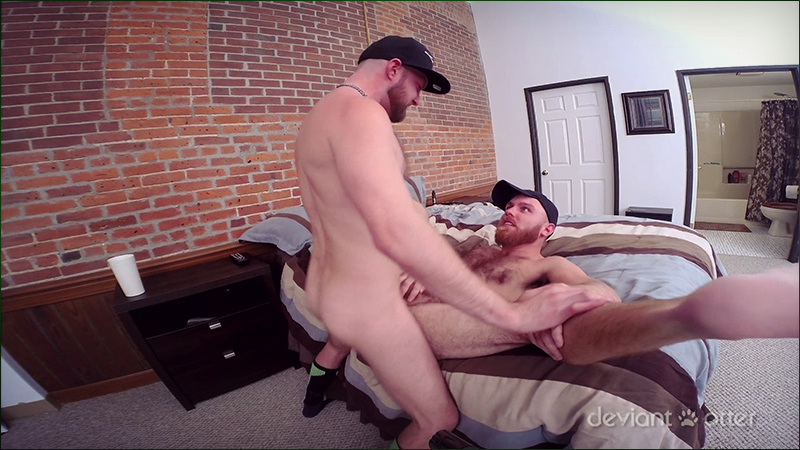 Devin Totter Fucks Jameson In A Bareback Gay Porn Watersports Scene For Deviant Otter