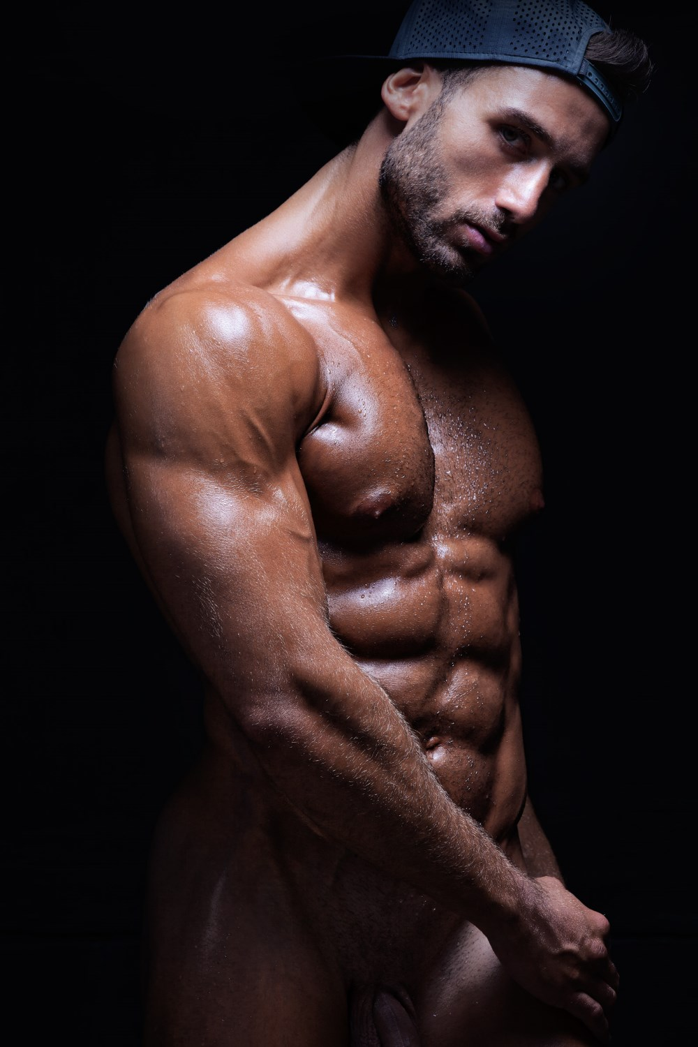 Models with erections nude male