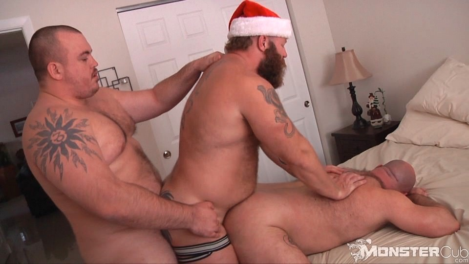 Nude Gay Bear Santa