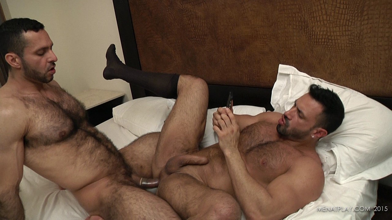 Men at play and adam champ flex