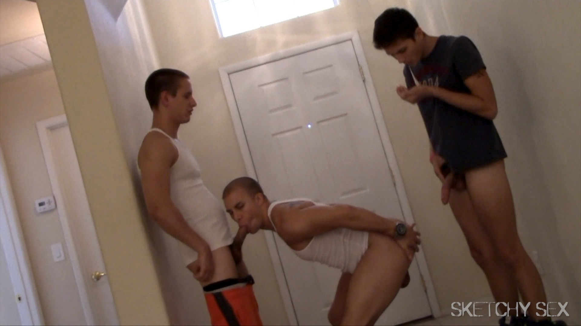 Sex in the Factory: Free Gangbang Porn Video 14 -