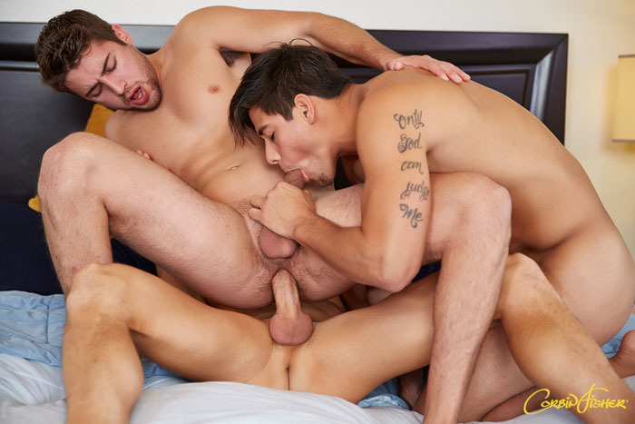 Mmf bisexual latino threesomes - 3 part 4