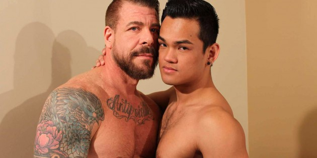 Cock-A-Doodle Do Me: A Triple Dose Of Rocco Steele's Massive 10 x 7 Inch Meat