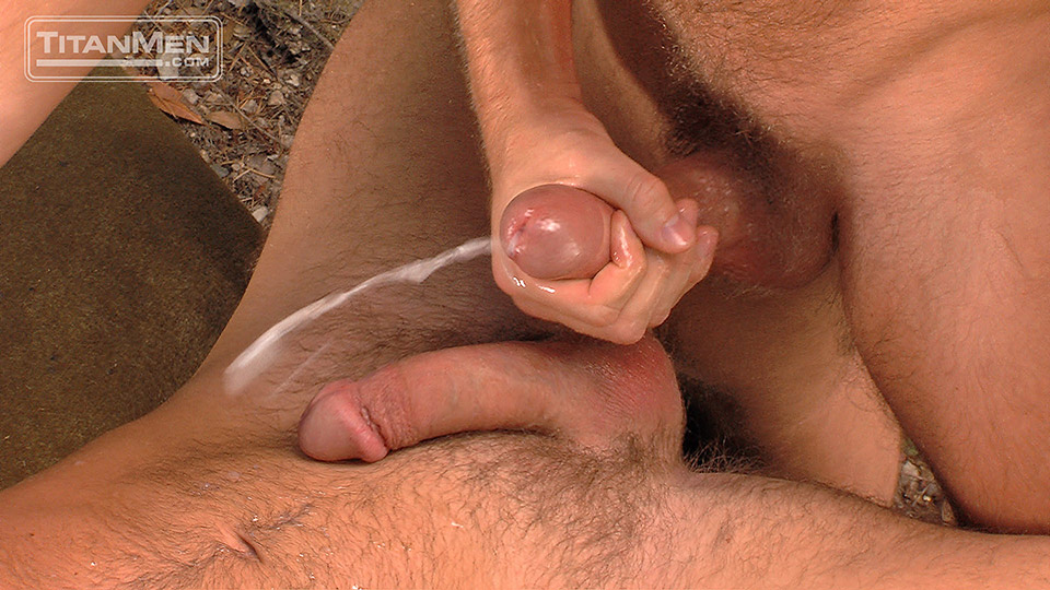Guy Rubbing His Dick