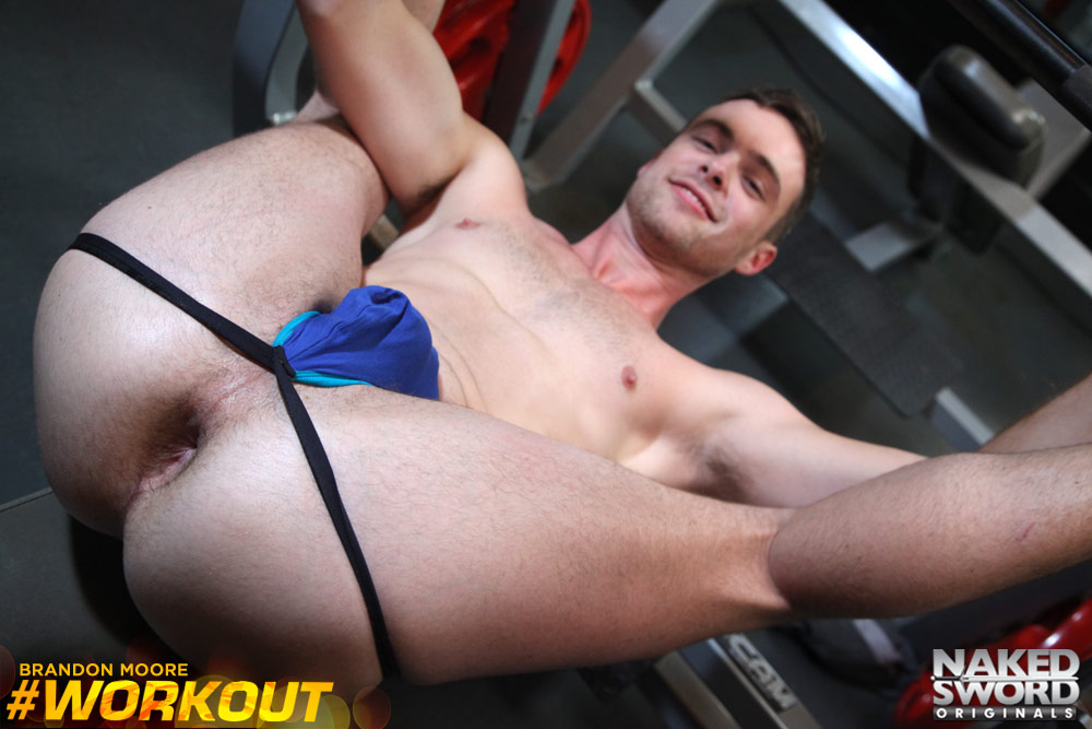 Workout male naked