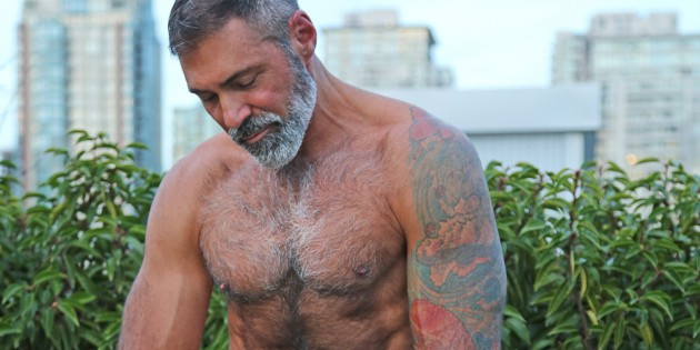 Manhunt Daily Wood: Joss Is A Salt & Pepper DILF