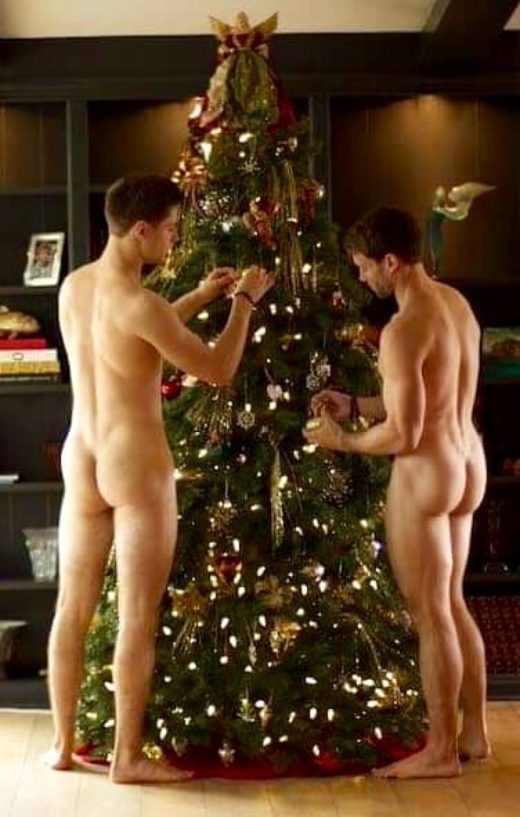 Have thought Christmas nude males have