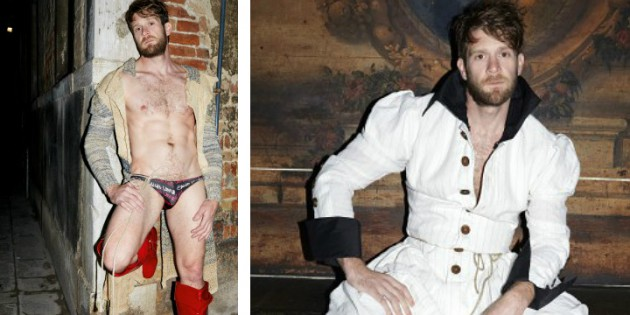 Colby Keller Is The New Face of Vivienne Westwood