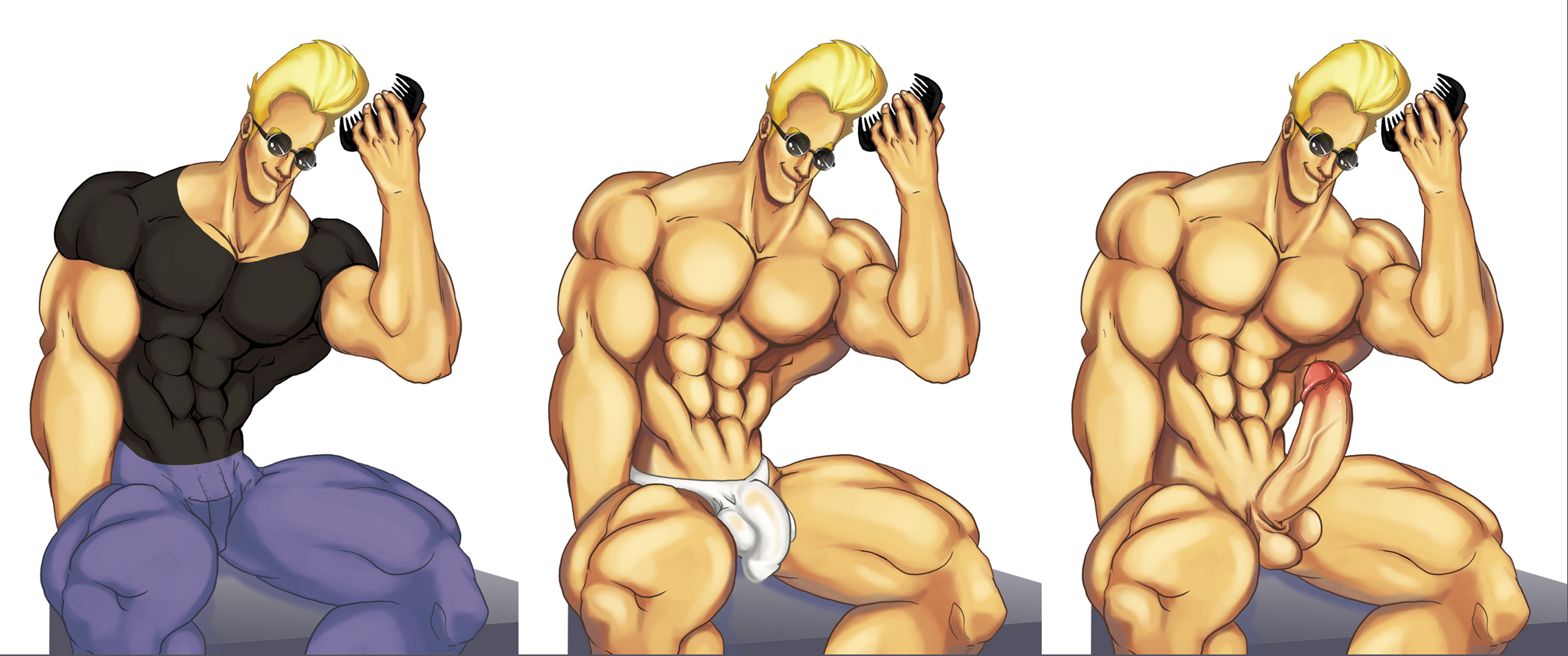 Nude johnny bravo #3