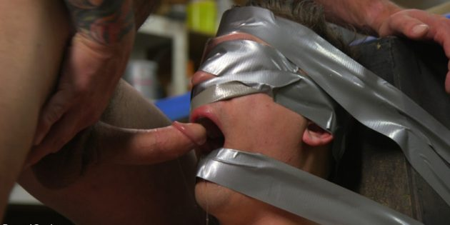 Let's Get Kinky: Tyler Rush Gets Tied Up. A Lot.