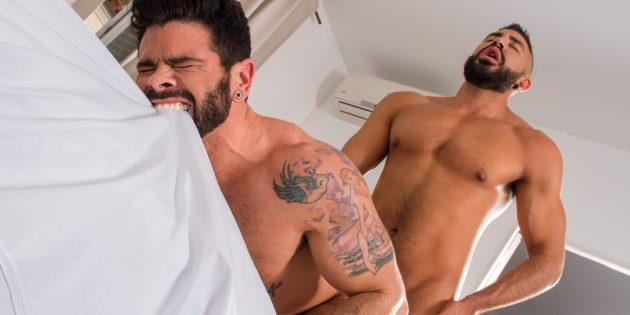 Raging Stallion Would Like You To Accompany Them On A Trip To Madrid