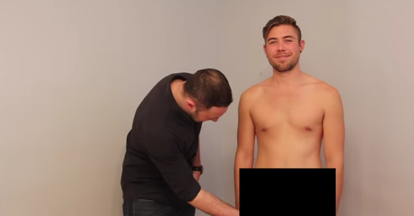 Straight Guys Are Gay: Straight Men Touch Another Penis For The First Time