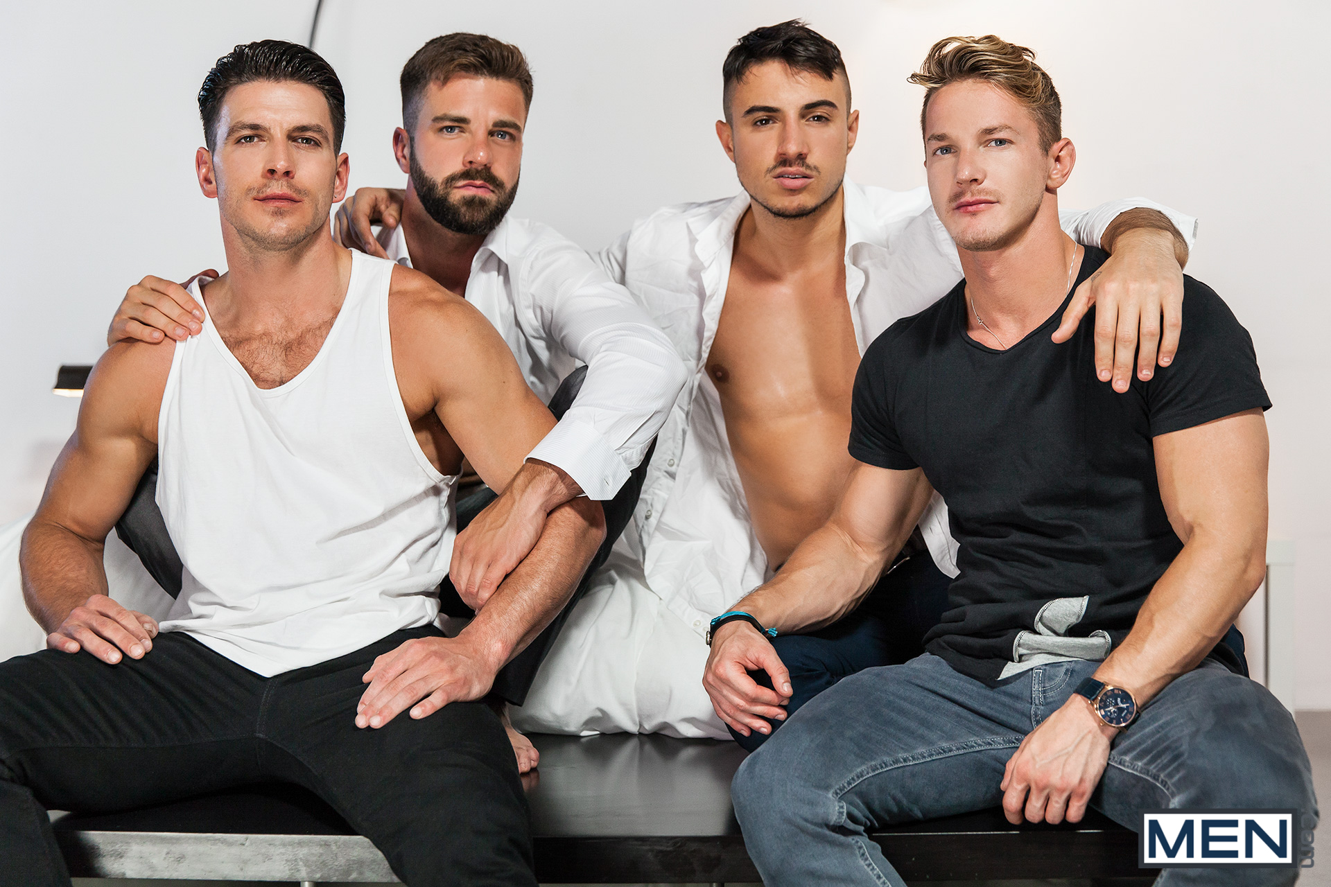 Group men orgy porn 3