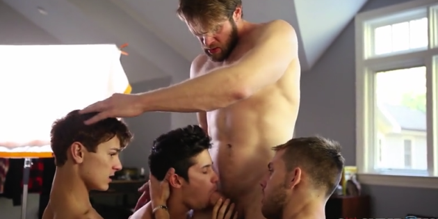 "Colby Keller Is The Special Guest In The ""One Erection"" Finale (And Cocky Boys Is 50% Off!)"