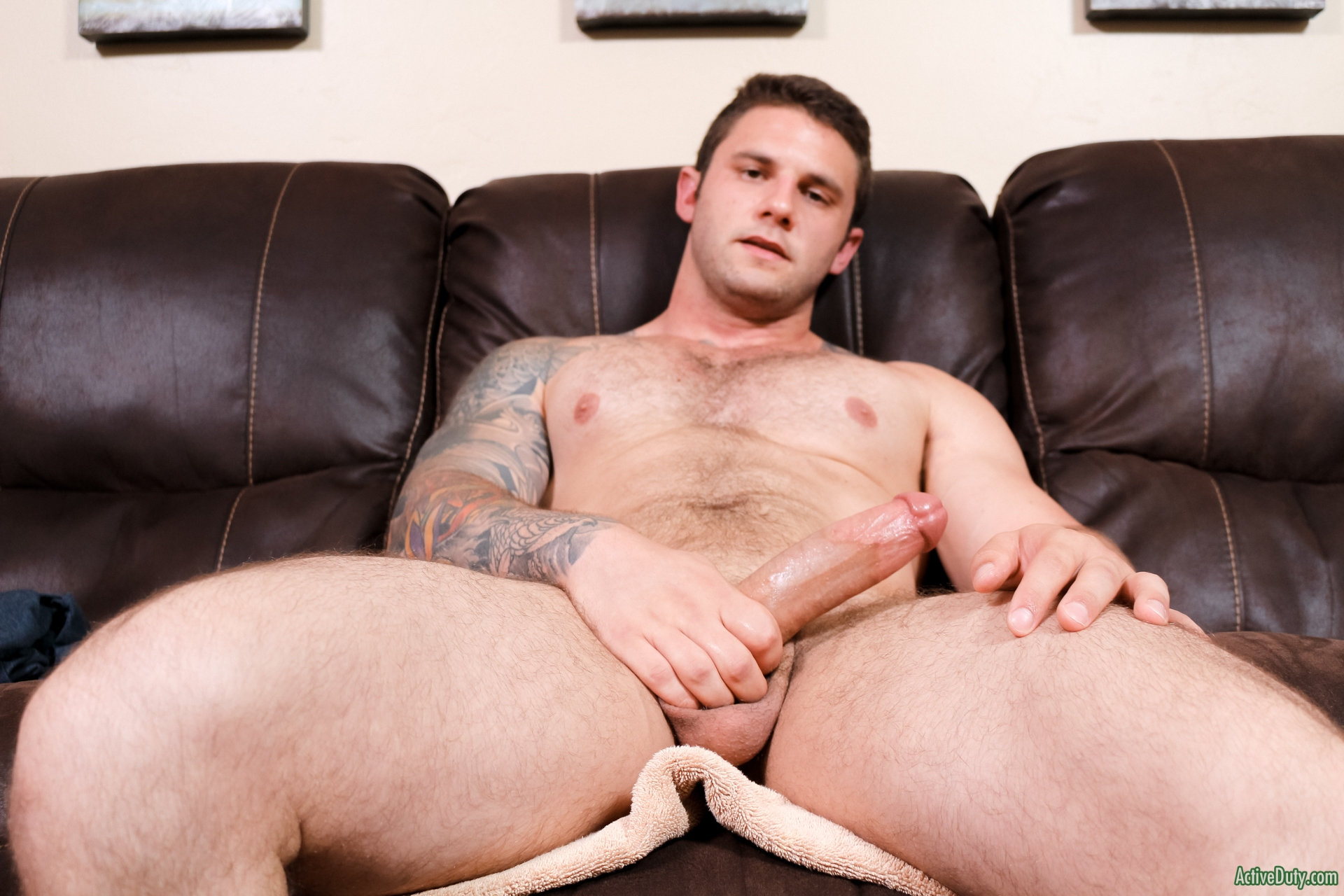 Activeduty sexy quentin in military sandwich 8