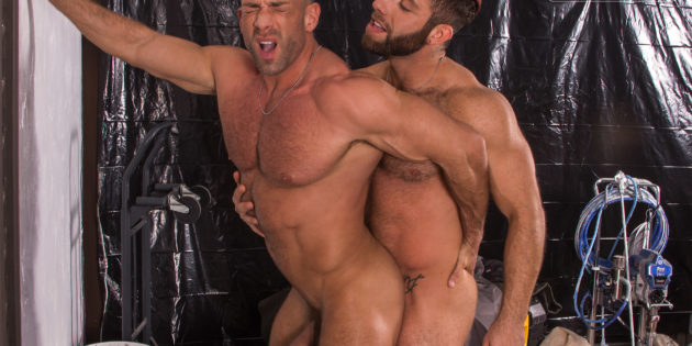 TitanMen: Eddy Ceetee and Bruce Beckham Practice Frisk Each Other