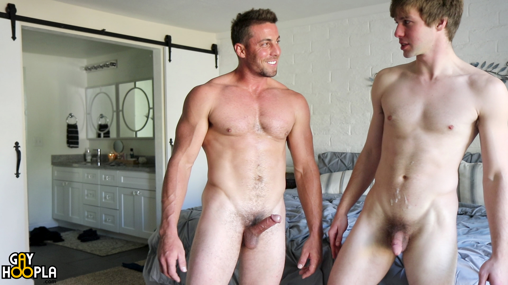 Hot twink dominic fucked by a married