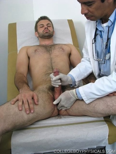 from Lane gay doctors physicals porn