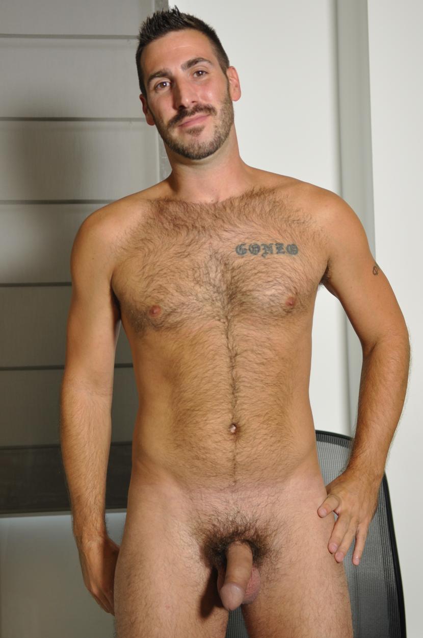 Gay nude man